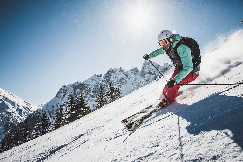 Perfect piste conditions for leisure skiers